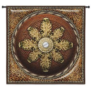 FIne Art Tapestries Leopard Mirror Wall Tapestry