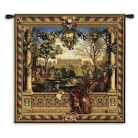 Fine Art Tapestries 'Le Chateau de Monceau' Wool Wall Tapestry