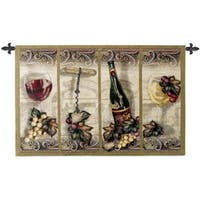 Fine Art Tapestries Nouveau Wine Cotton Wall Tapestry