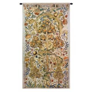 Fine Art Tapestries 'Summer Quince' Cotton Wall Tapestry|https://ak1.ostkcdn.com/images/products/14266721/P20853897.jpg?impolicy=medium
