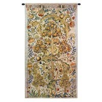 Fine Art Tapestries 'Summer Quince' Cotton Wall Tapestry