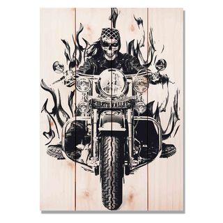 Death Valley Bike 14x20 Indoor/Outdoor Full Color Cedar Wall Art