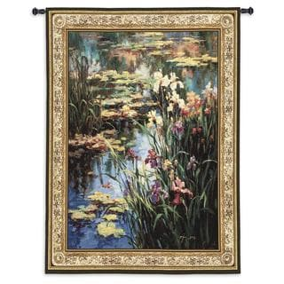 Fine Art Tapestries 'Summer Lily' Large Wall Tapestry