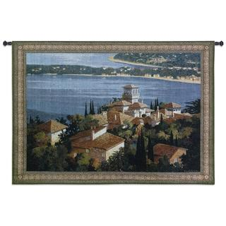 Fine Art Tapestries 'Garden on the Cote D'Azur' Large Wall Tapestry