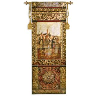 Fine Art Tapestries 'New Enchantment I' Multicolored Cotton Wall Tapestry