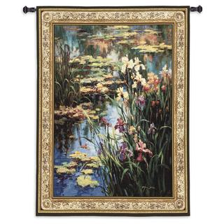 Fine Art Tapestires 'Summer Lily' Cotton Small Wall Tapestry