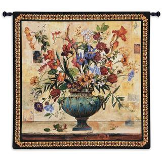 Fine Art Tapestries 'Radiance' Multicolored Cotton Wall Tapestry