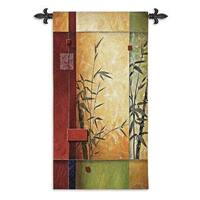 Fine Art Tapestries Garden Dance I Cotton Wall Tapestry