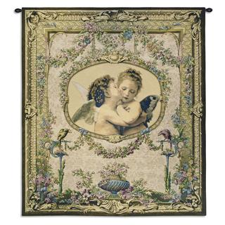 Fine Art Tapestries 'L'Amour et Psyche, enfants' Wall Tapestry