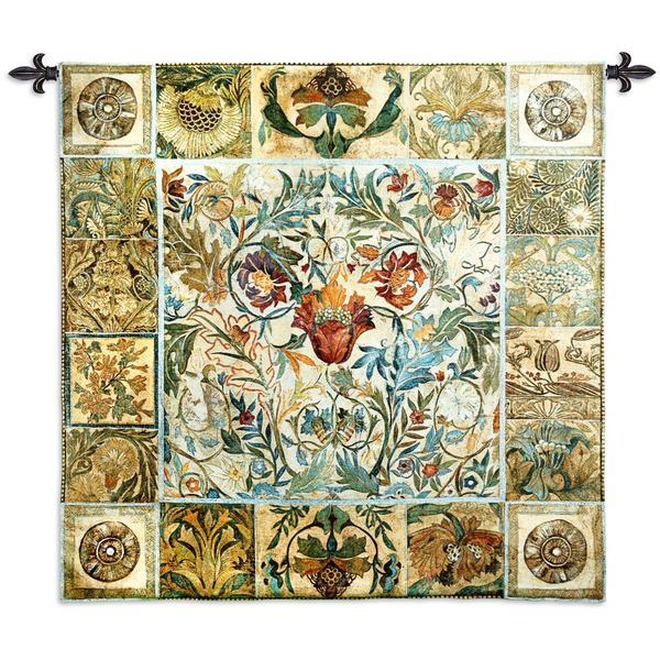 Fine Art Tapestries Garden Celebrations Medium Cotton Wall Tapestry