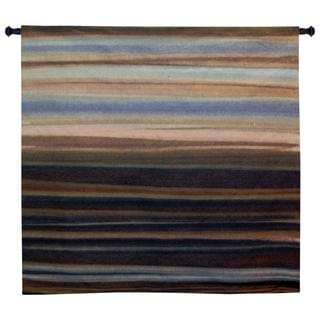 Fine Art Tapestries 'Striedescent' Multicolored Cotton Medium Wall Tapestry