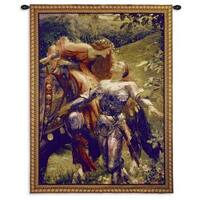 Fine Art Tapestries 'La Belle Dame Sans Dicksee' Cotton Small Wall Tapestry