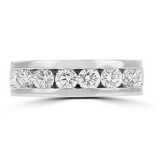 La Vita Vital 14K Two Tone Gold Men's Diamond 1.45cts TDW Ring