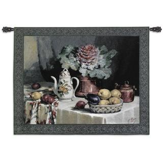 Fine Art Tapestries 'Still Life With Coffee' Wall Tapestry