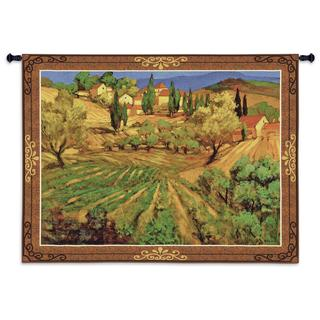 Fine Art Tapestries 'Mount Ventoux' Cotton Wall Tapestry