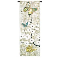 'Spring Unfolding' Cotton Wall Tapestry