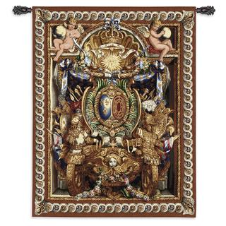 Fine Art Tapestries Portiere du Char de Triomphe Cotton Wall Tapestry