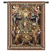 Fine Art Tapestries 'Portiere du Char de Triomphe' Large Wool and Cotton Wall Tapestry
