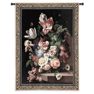 Fine Art Tapestries 'Flowers Of Grace' Large Wall Tapestry
