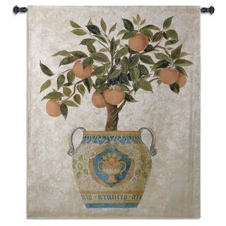 Fine Art Tapestries 'Italian Orange Tree' Wall Tapestry