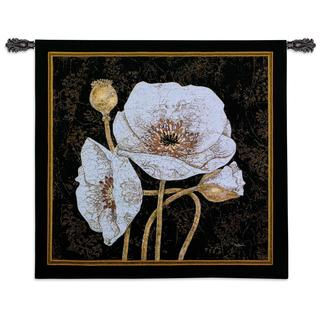 Fine Art Tapestries 'Poppies by Night' Cotton Wall Tapestry