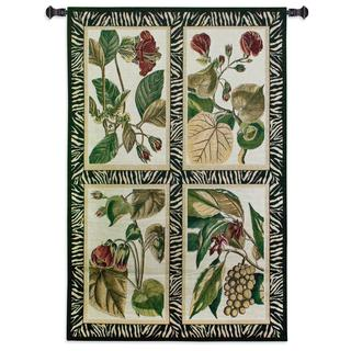 Floral Quad Wall Tapestry