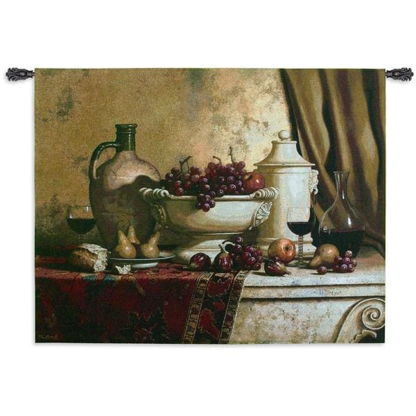 Fine Art Tapestries 'Italian Feast' Large Wall Tapestry