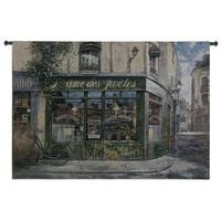 Fine Art Tapestries 'Souls of Poets' Large Wall Tapestry