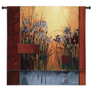 Fine Art Tapestries 'Iris Sunrise' Wall Tapestry