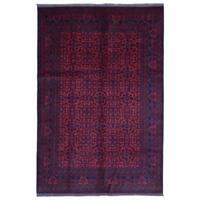 FineRugCollection Handmade Khal Mohammadi Red Wool Oriental Rug (6'6 x 9'7)