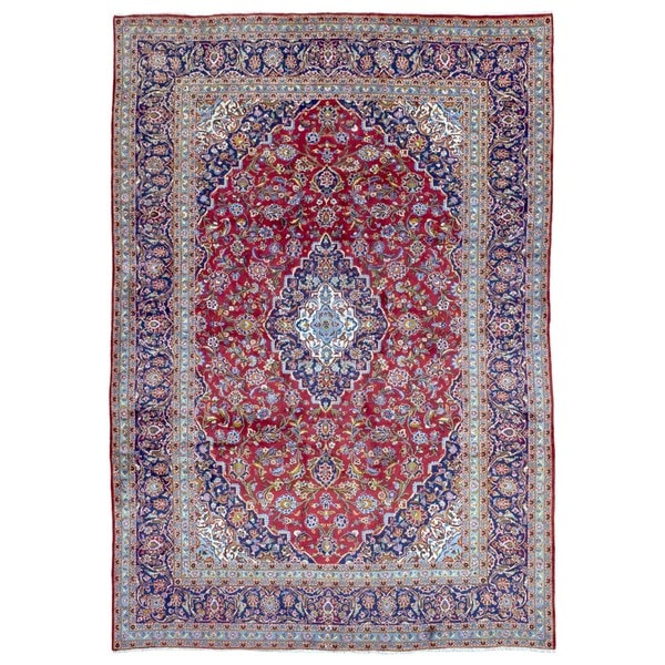 5 X 6 Vintage Kazak Persian Oriental Wool Hand Knotted: Shop FineRugCollection Hand-knotted Semi-antique Persian
