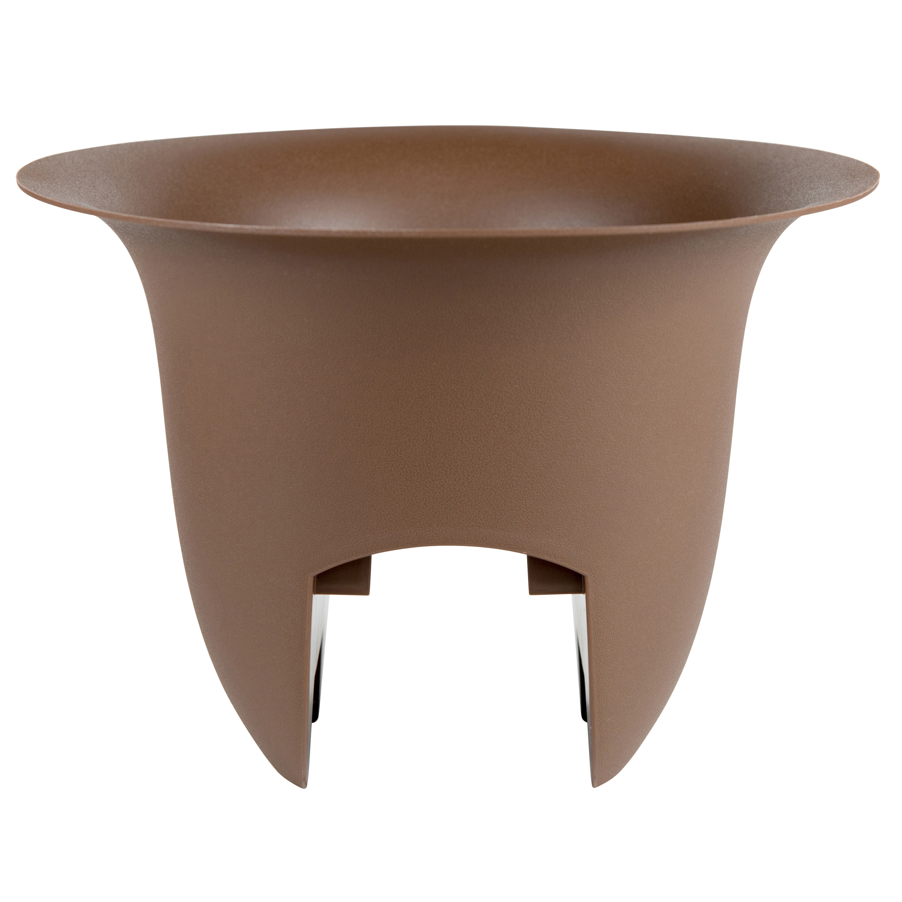 Bloem Modica 18-inch Chocolate Deck Rail Planter (Bloem M...