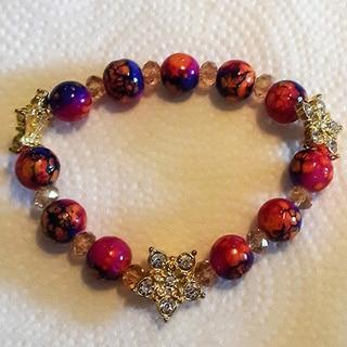 Women's Colorful Stretch Bracelet