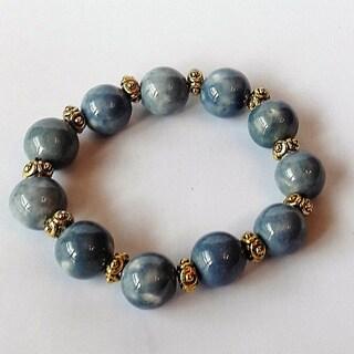 Women's Fashion Ceramic Denim Bracelet