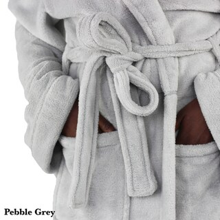 Luxury Super Soft Coral Fleece Bathrobe