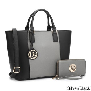 Dasein Classic Medium Tote Bag with Matching Wallet (5 options available)