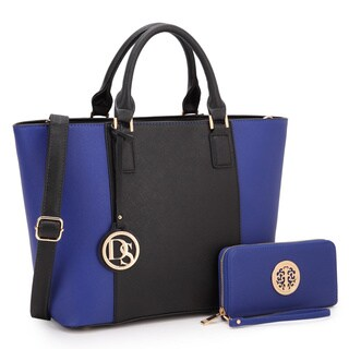 Dasein Classic Medium Tote Bag with Matching Wallet