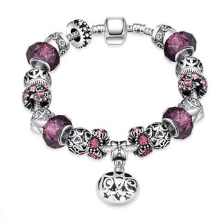 Hakbaho Jewelry Silverplating Purple Fusion Bracelet