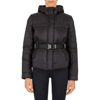 Prada Women's Black Belted Puffer Jacket|https://ak1.ostkcdn.com/images/products/14268186/P20854934.jpg?impolicy=medium