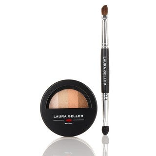 Laura Geller Sandbar Eye Dreams Baked Eyeshadow Palette with Brush