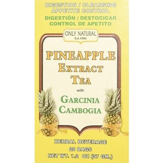 Only Natural Tea Pineapple Extract Garcinia Cambogia Tea (20-count Tea Bags)
