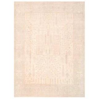 Herat Oriental Afghan Hand-knotted Vegetable Dye Khotan Wool Rug (12' x 15'11)