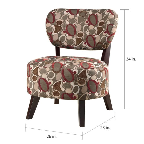Admirable Shop Best Master Furniture Metro Print Accent Chair Free Forskolin Free Trial Chair Design Images Forskolin Free Trialorg