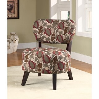 Best Master Furniture Metro Print Accent Chair
