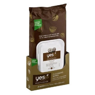 Yes To Coconut Hydrate Restore 25-count Cleansing Wipes
