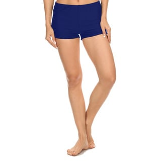 Dippin' Daisy's Women's Solid Navy Boyshorts Style Swimsuit Bottoms