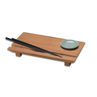 Joyce Chen Burnished Bamboo Sushi Board