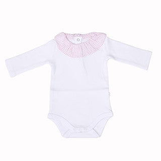 Briobebe Infants' Cotton Classic Ruffle Bodysuit