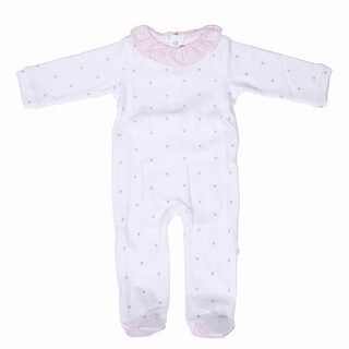 Briobebe Girls' Cotton Bee Print Jumpsuit