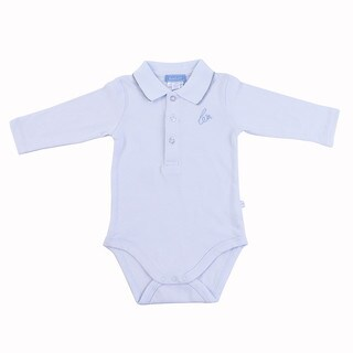 Briobebe Blue Pique Knit Bodysuit (More options available)